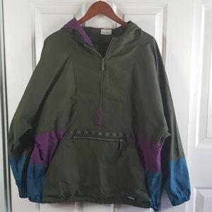 L.L.Bean• L windbreaker jacket lightweight  aztec